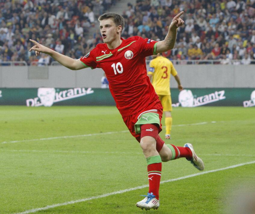 Dragun a egalat la 2 pentru Belarus în minutul 82