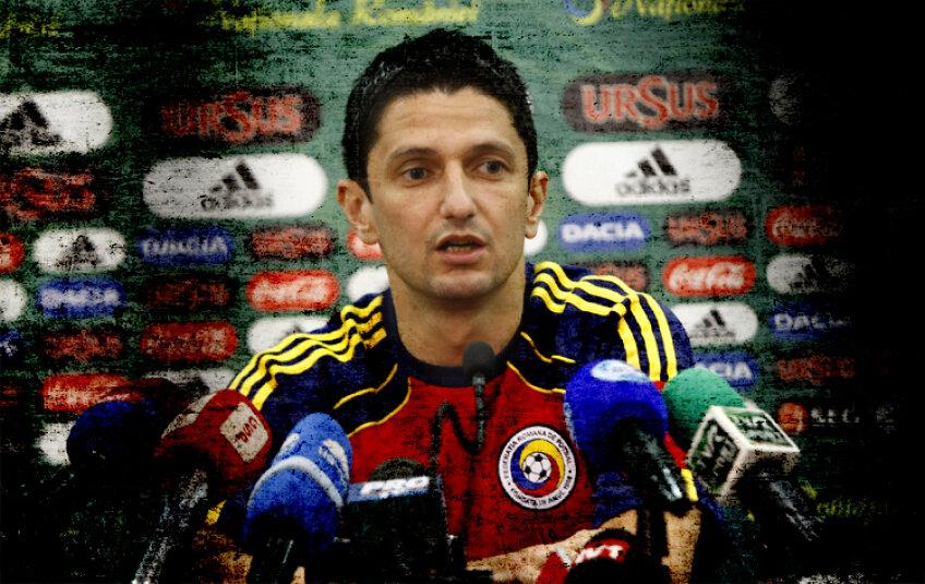 Răzvan Lucescu a stat aproape trei ani pe banca reprezentativei