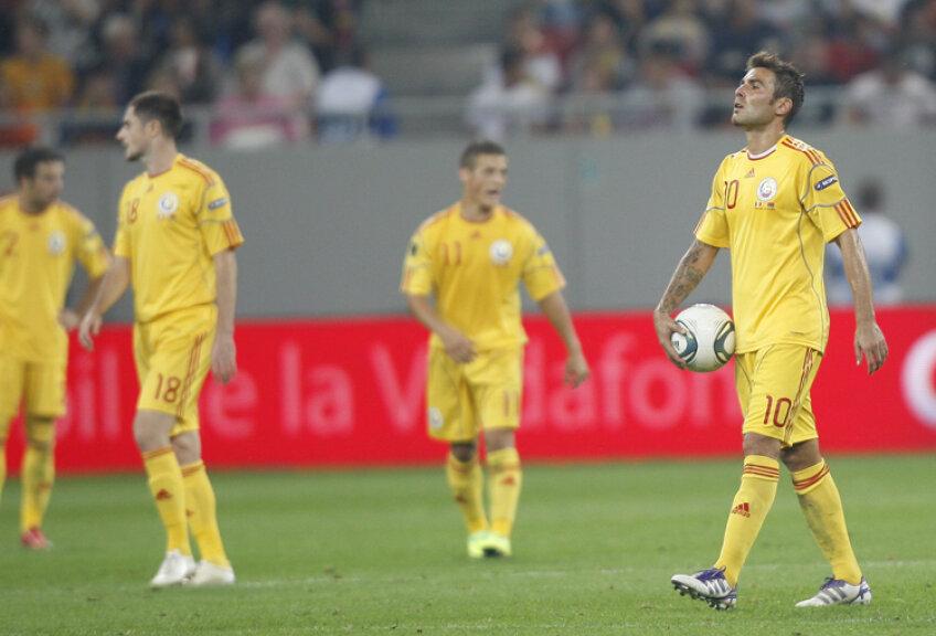 Românii au încheiat cu capetele plecate jocul cu Belarus