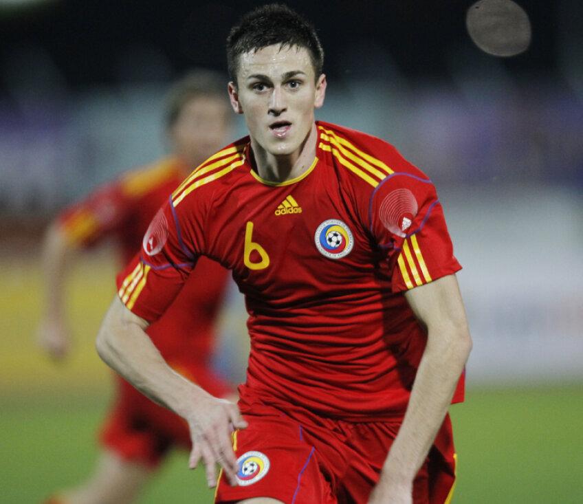 Florin Gardoş s-a accidentat la antrenamentul de ieri şi este incert pentru jocul de marţi, contra Albaniei