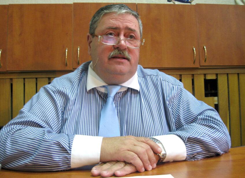 Cezar Măgureanu este senator de Giurgiu şi face parte din UNPR. Sursa: mediafax