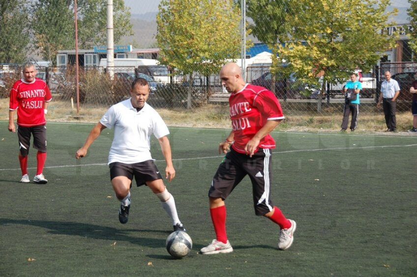 Bogdan Buhuş, golgheter la minifotbal