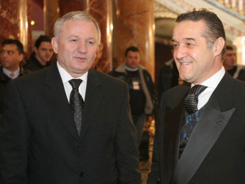 Porumboiu şi Gigi Becali n-au mai avut dispute în privinţa meciurilor directe Vaslui - Steaua de 3 ani