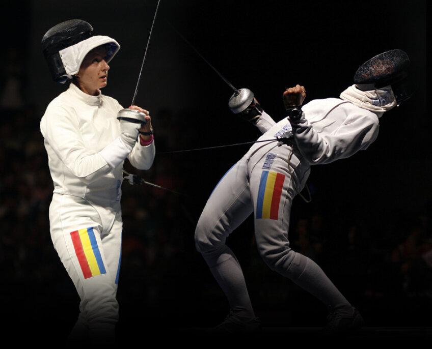 Ana şi Anca luptă pentru o medalie cît mai strălucitoare