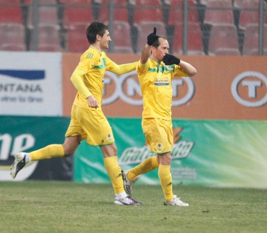 Adailton a marcat în remiza din returul trecut, scor 1-1, în Ghencea