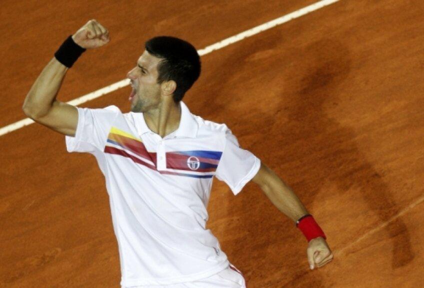 Djokovici rămîne pe primul loc în clasamentul ATP pînă la finalul anului