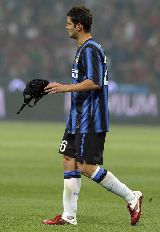Chivu e în ultimul an al unui contract pe 5 sezoane cu Inter şi clubul nu i-a propus încă prelungirea lui Foto: Guliver/ GettyImages