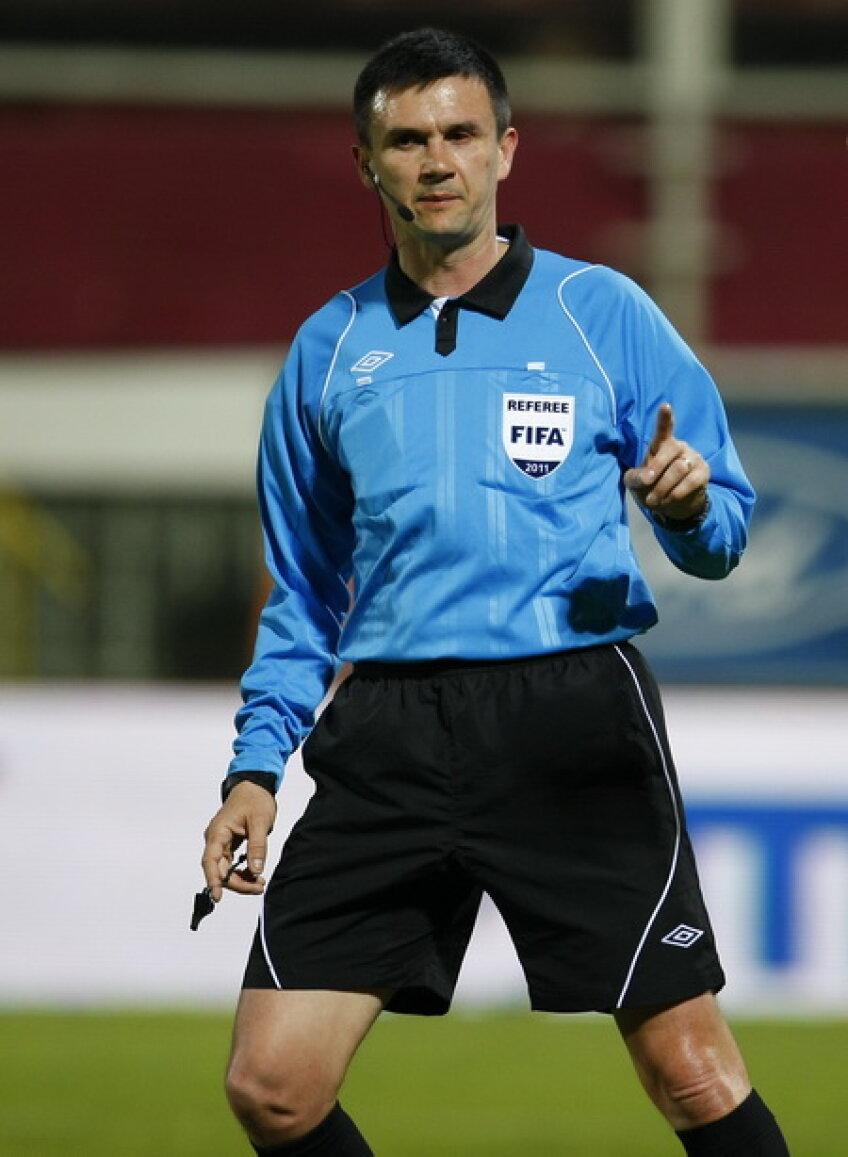 Cristi Balaj va oficia pentru prima dată la un meci pe terenul Vasluiului