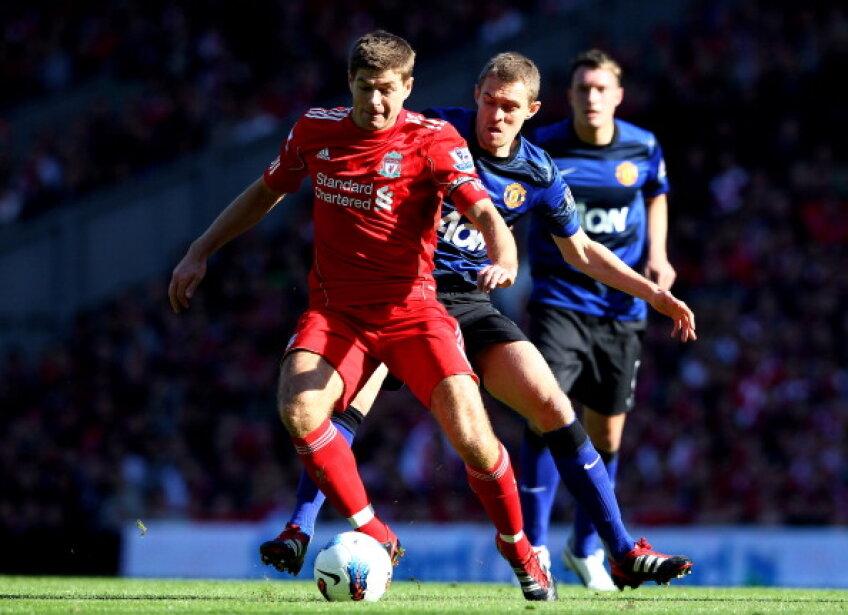 Gerrard a revenit cu gol după şase luni de absenţă din