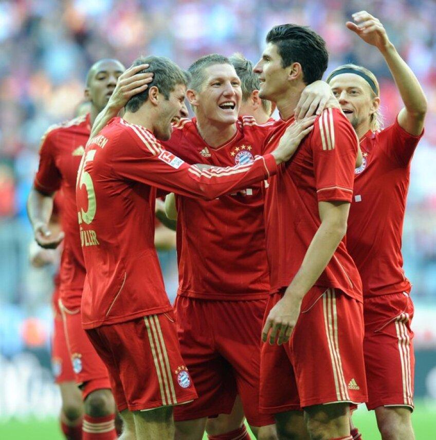 Bayern Munchen, lider detaşat în Bundesliga