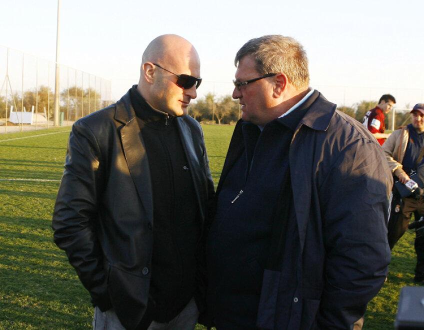 Arpad Paszkany şi Iuliu Mureşan vor al treilea titlu din istoria clubului CFR Cluj