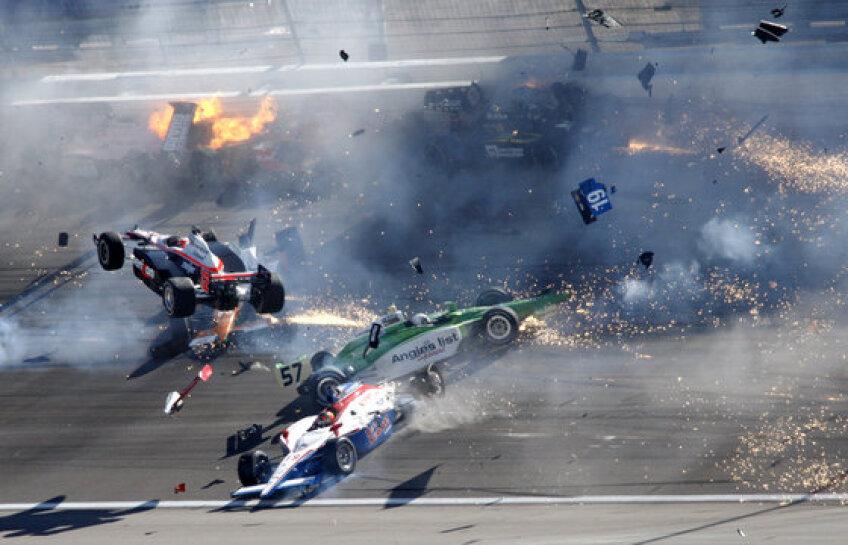Accidentul din Las Vegas i-a curmat viața dublului campion din Indy, Dan Wheldon