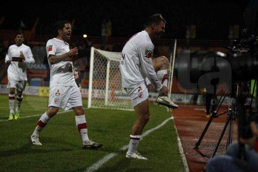 Marius Niculae a marcat 3 goluri contra Ceahlăului