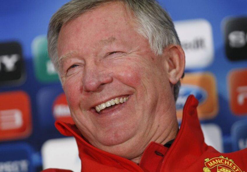 În decembrie, Alex Ferguson va împlini 70 de ani, dar a anunţat că n-are de gînd să se retragăFoto: Raed Krishan
