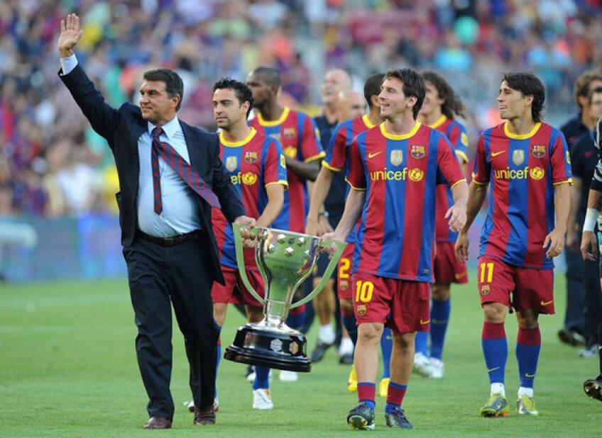Barca, învinsă o singură dată în 16 meciuri din Liga Campionilor