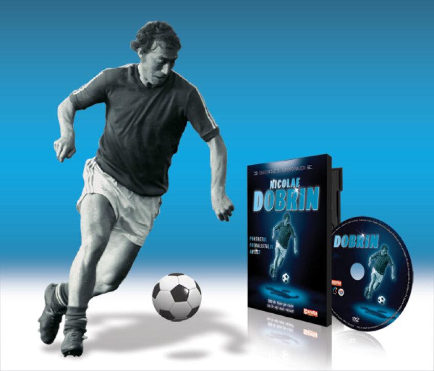 Marţi, 25 octombrie, ai DVD-ul Dobrin. Numai cu Gazeta Sporturilor