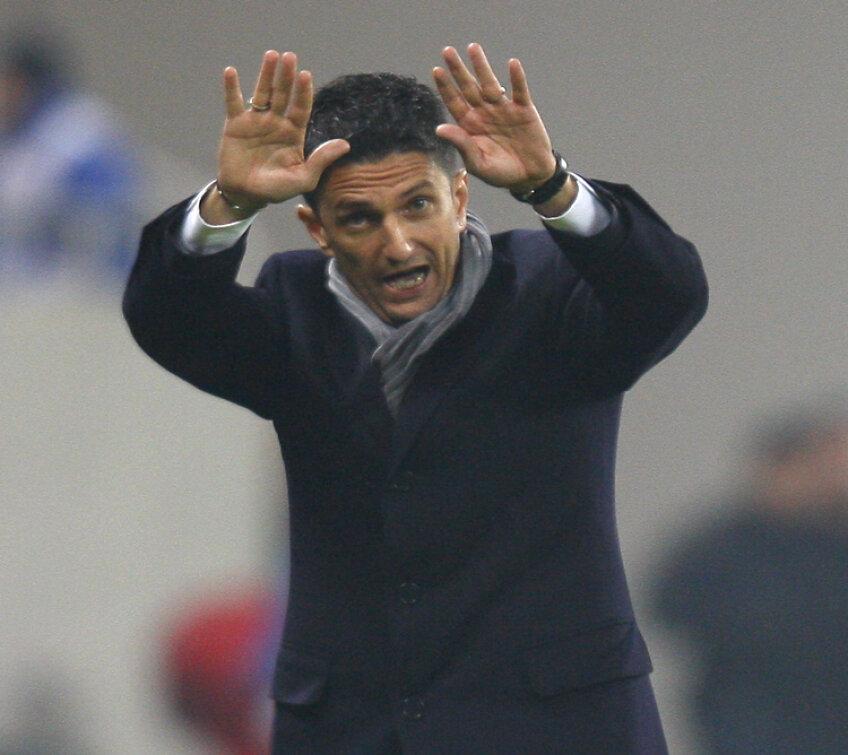 Răzvan Lucescu este foarte dezamăgit de teama cu care au jucat elevii săi