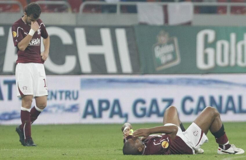 Rapidul a pierdut şi al doilea meci de pe teren propriu în Europa League, 0-1 cu Legia