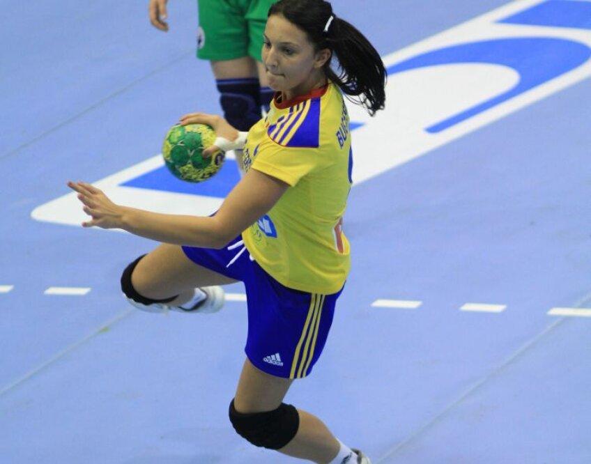 La 18 ani, Eliza Buceschi a jucat primele ei meciuri în tricoul