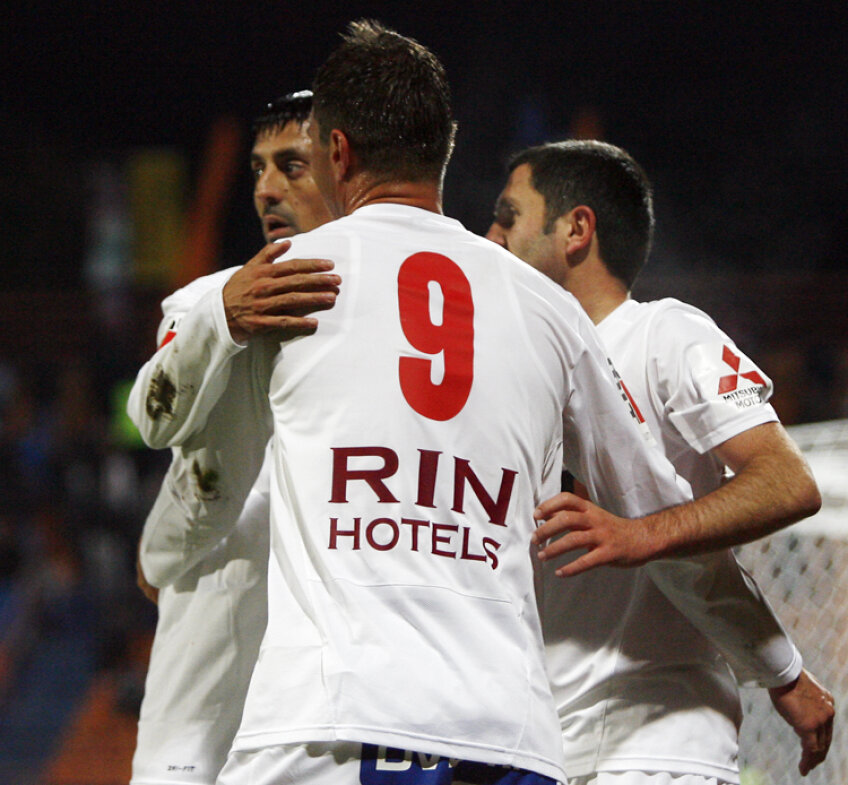 Dinamo a înscris de 25 de ori în primele 10 etape