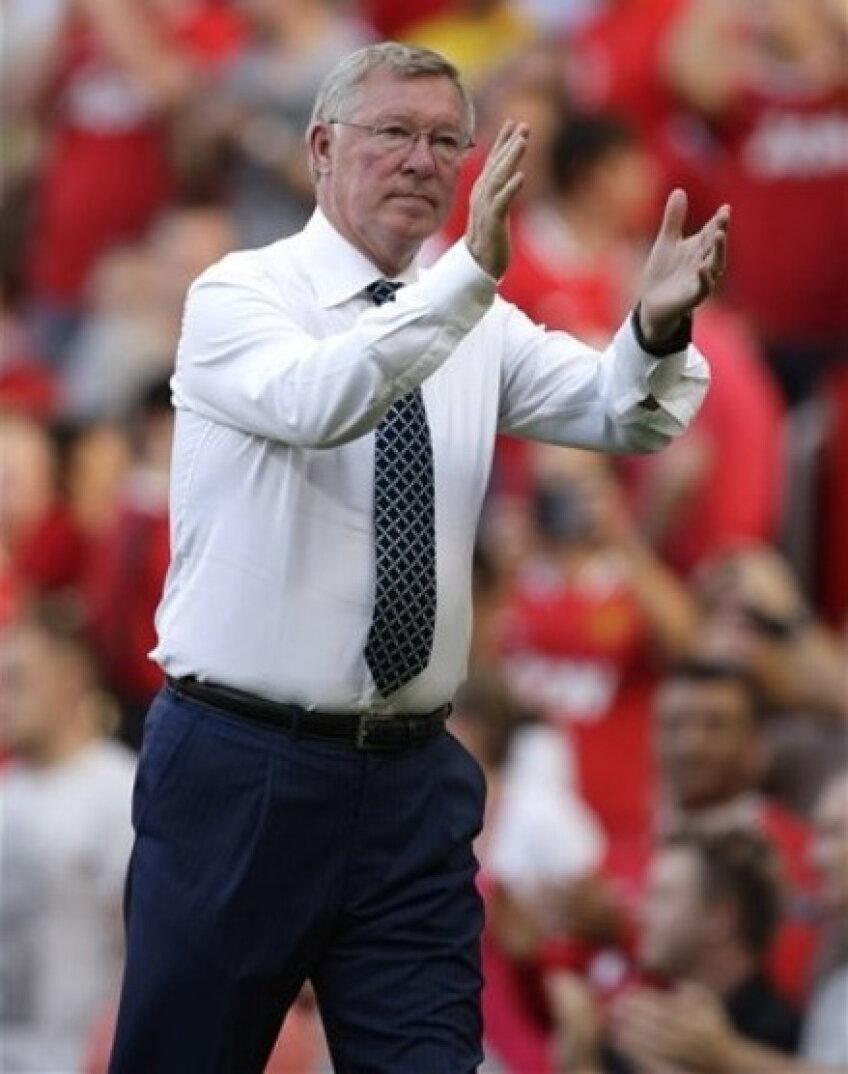 Alex Ferguson nu se temea de meciul cu City, dar surpriza a fost foarte mare