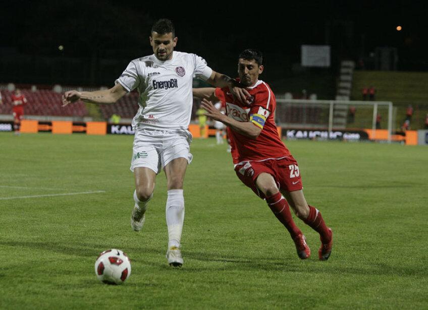 Dinamo și CFR Cluj, aflate în luptă directă pentru titlu, au început războiul declarațiilor. FOTO Cristi Preda