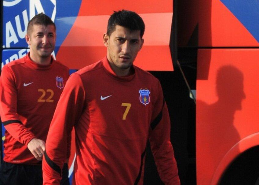 Florin Costea a dat un singur gol la Steaua, cel al victoriei din prelungiri cu Oţelul
