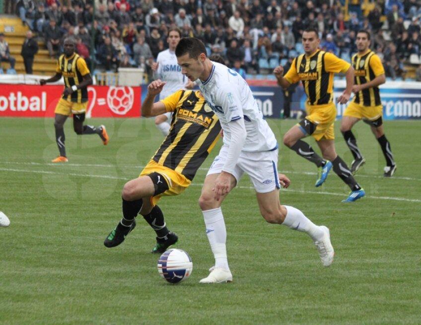 Imagini de la Pandurii - FC Braşov