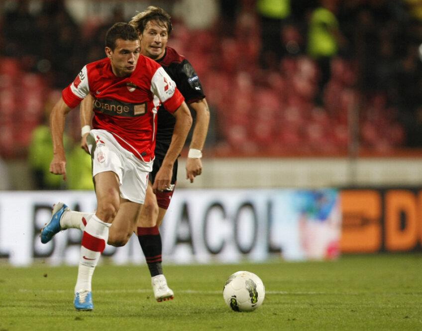 Liviu Ganea a marcat un gol în cele 150 de minute jucate în acest sezon, în toate competițiile