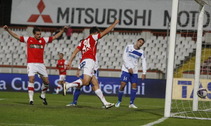Imagini de la Dinamo - Gaz Metan Severin
