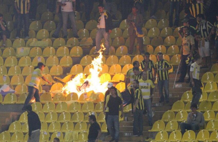 Fenerbahce nu va mai avea galerie la derby-ul cu Beşiktaş din această seară