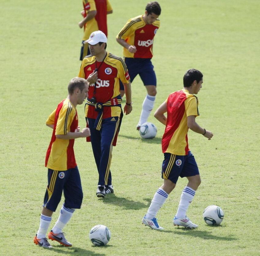 Victor Piţurcă a ales lista cu stranierii pentru meciul amical cu Belgia