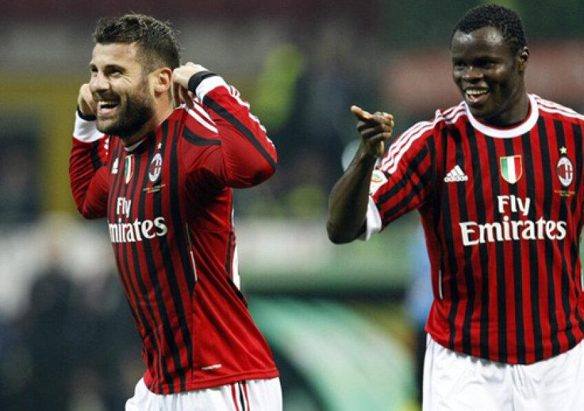 Nocerino a înscris o triplă în meciul cu Parma (foto: daylife.com)