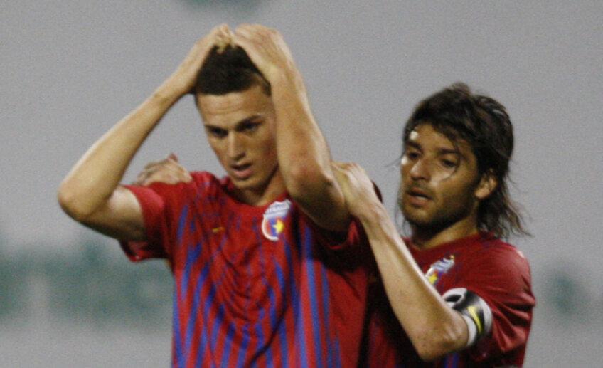 Florin Gardoş (stînga) a primit cea mai mare suspendare dintre steliştii eliminaţi în acest sezon