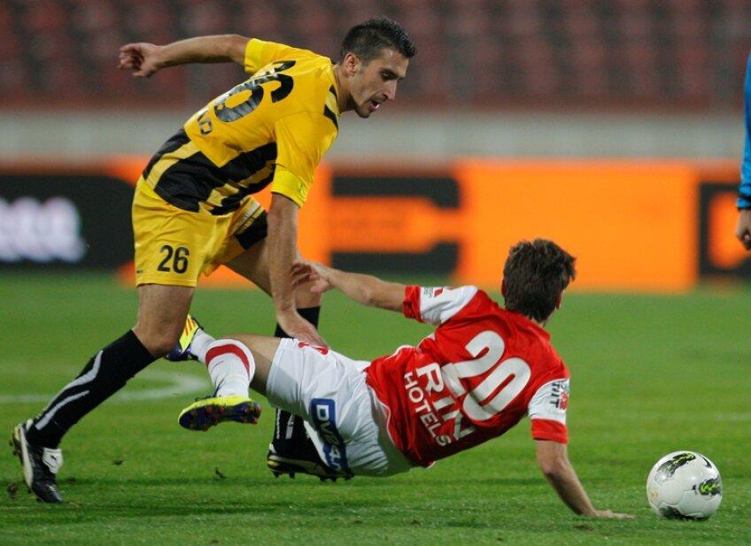 Bruno Madeira a fost eliminat gratuit de Radu Petrescu în optimile Cupei cu Pandurii