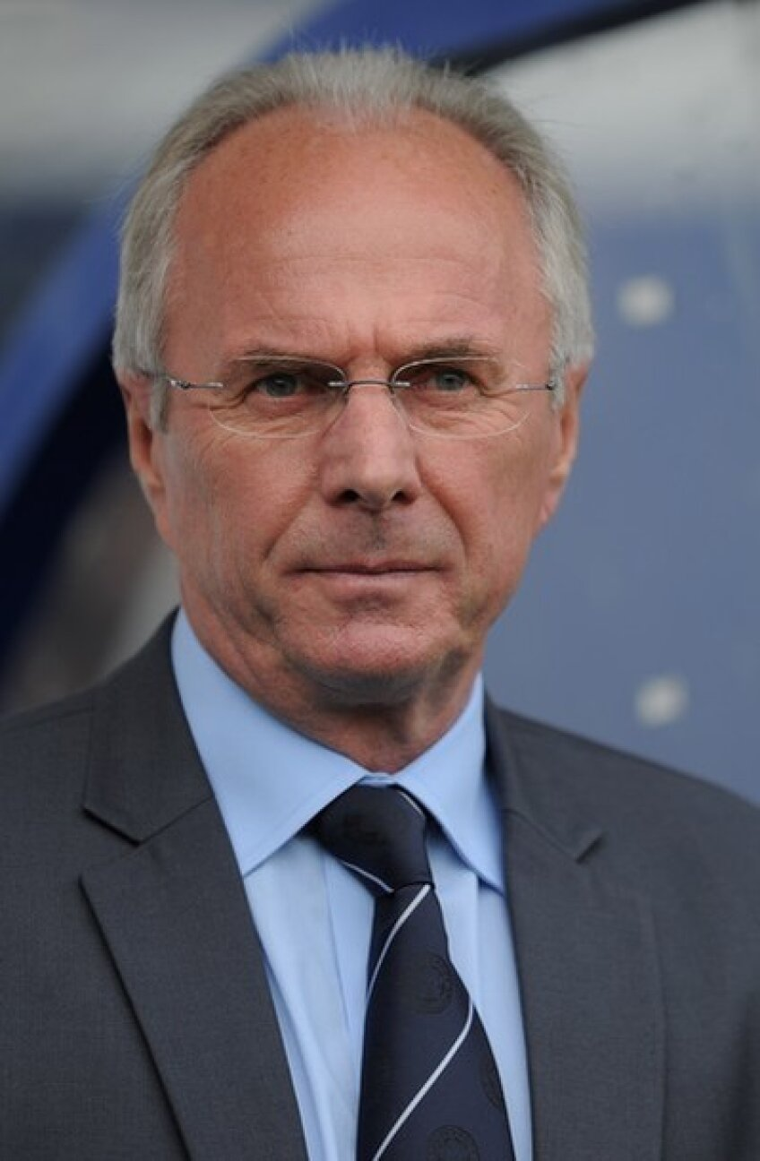 Eriksson e impresionat de potenţialul fotbalistic al românilor