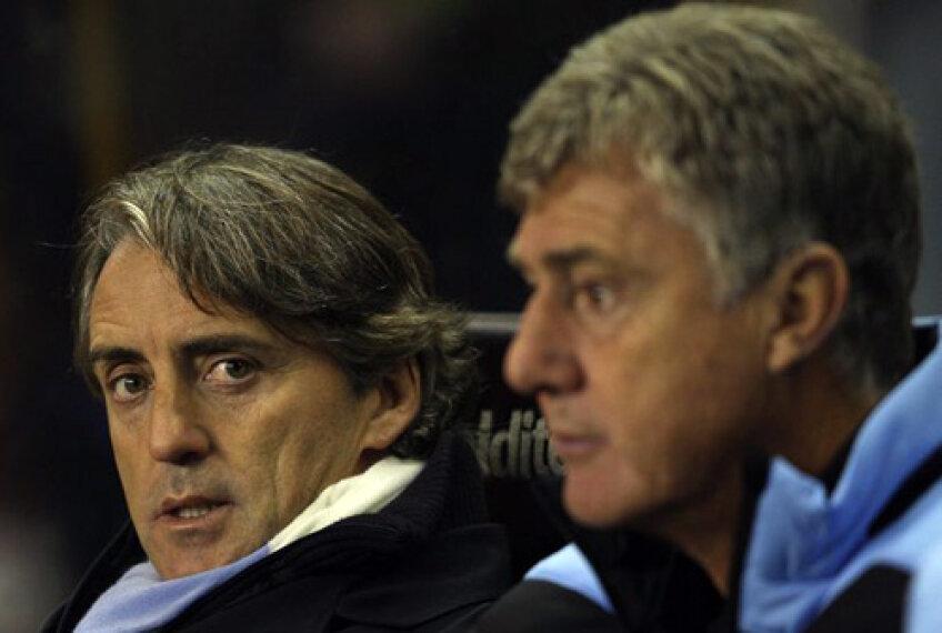 Şeicii lui City nu concep să se despartă de Roberto Mancini