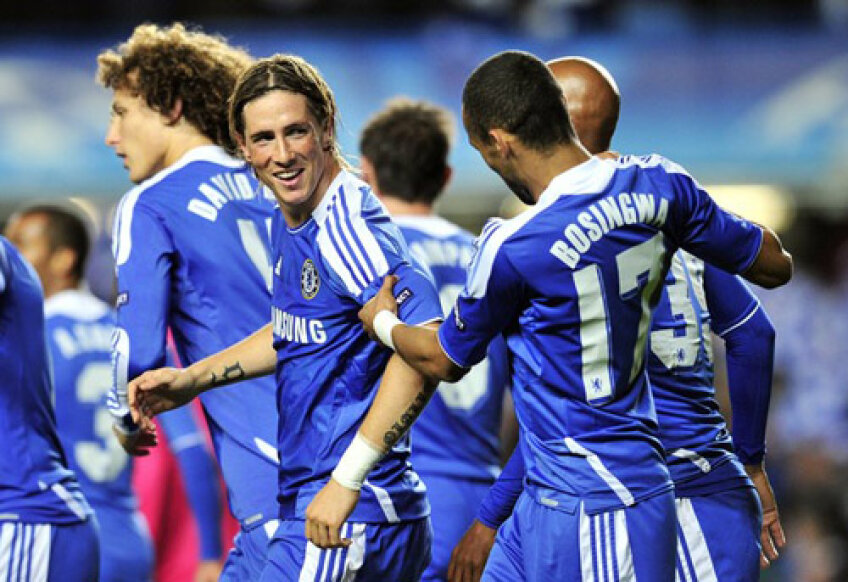 Torres a marcat o dublă în meciul cu Genk şi promite să înscrie şi în returul de marţi