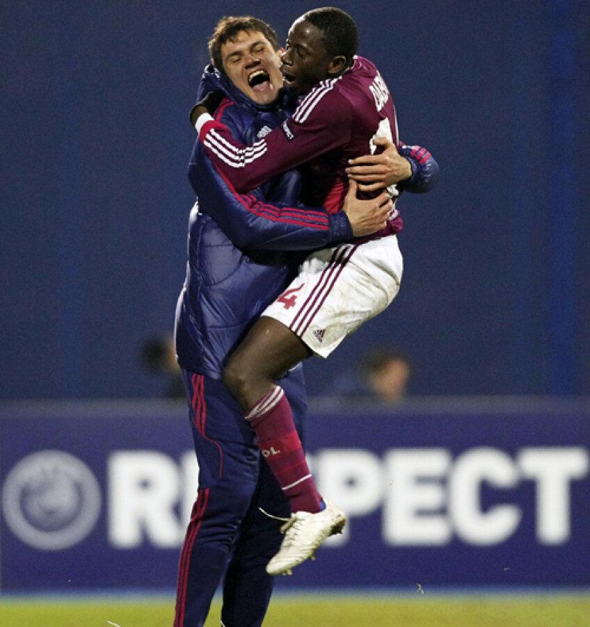 Francezii s-au bucurat pentru victoria cu Dinamo Zagreb, meci care le-a adus calificarea în optimi
