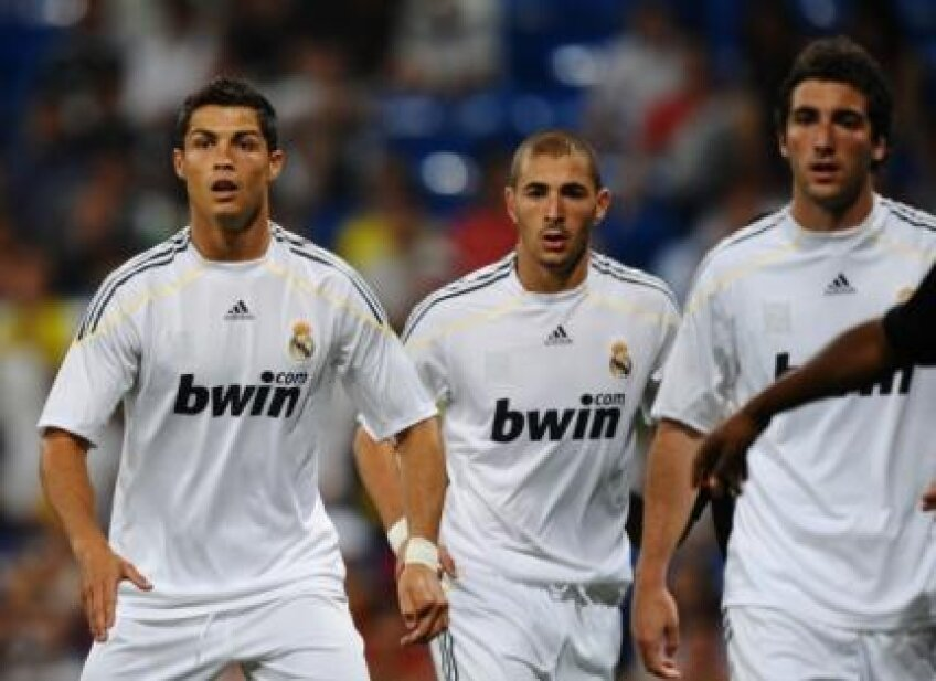 Ronaldo, Benzema și Higuain formează cel mai eficace trio din Europa