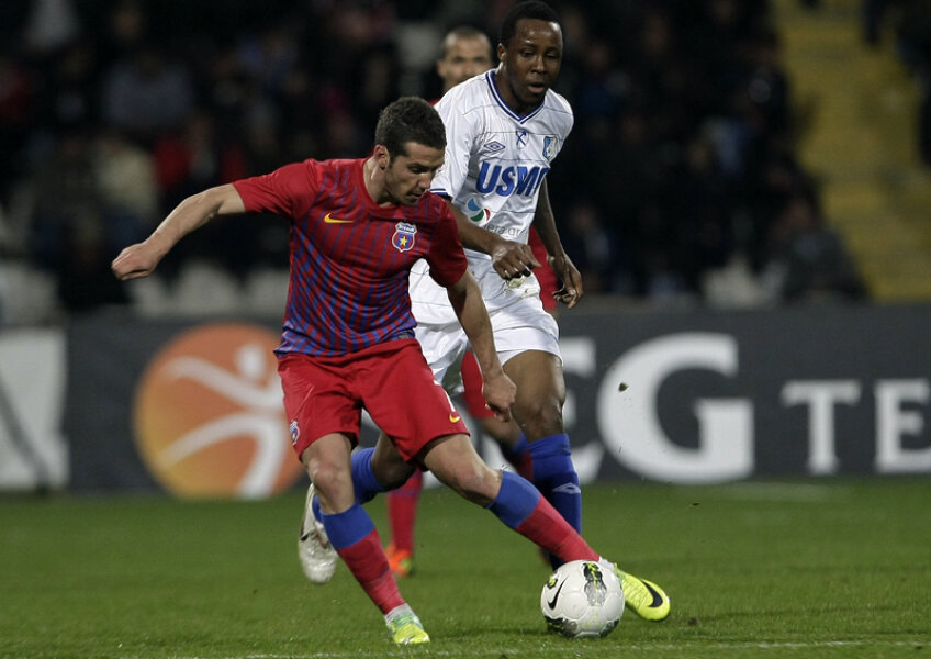 Chipciu (22 de ani) a marcat sîmbătă al 10-lea gol al său în Liga 1, dar primul într-un meci în deplasare