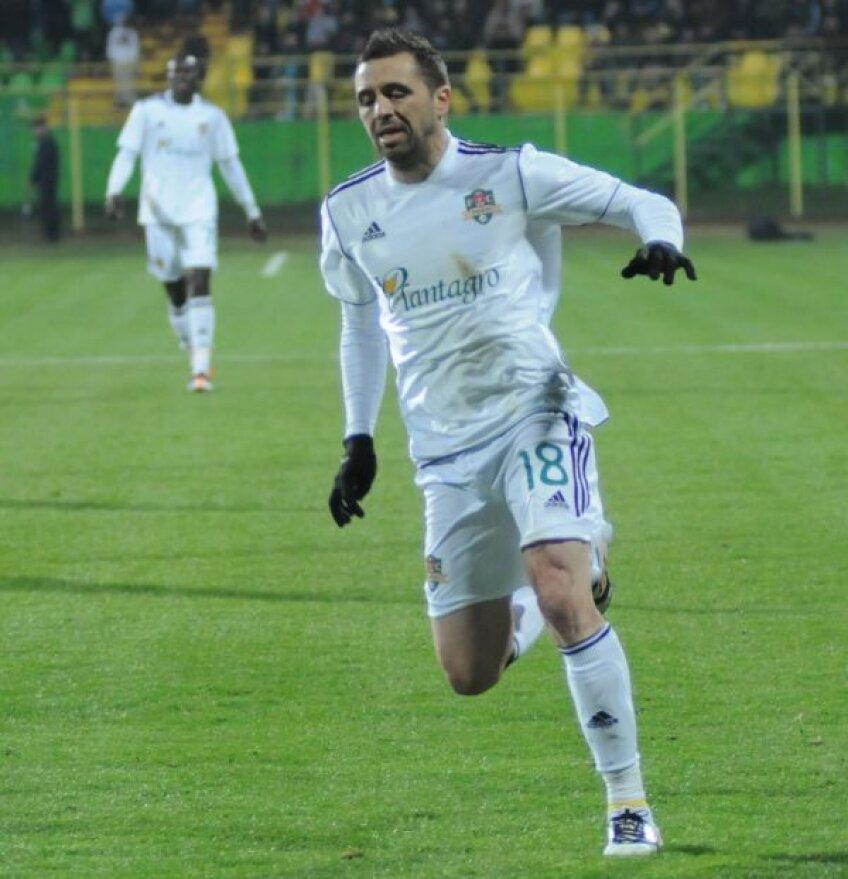 Lucian Sînmărtean a fost cel mai bun jucător român din Liga 1 în sezonul trecut