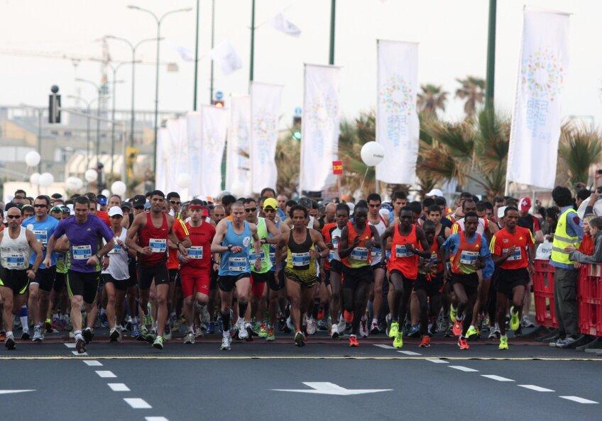 Peste 7000 de participanţi la Maratonul din Bucureşti foto:reuters