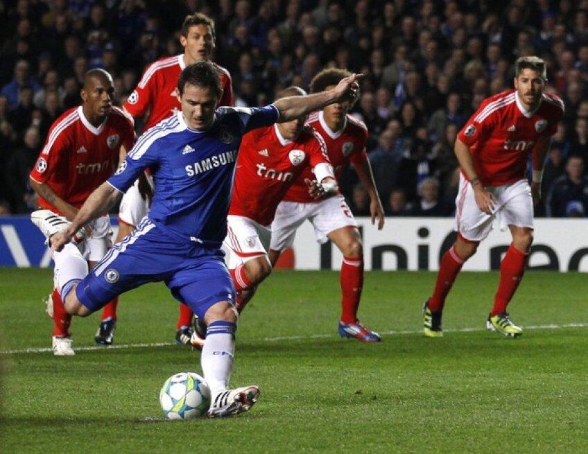 Lampard a netezit din penalty drumul către semifinală // Foto: Reuters