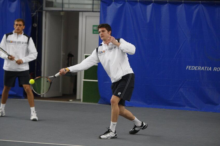 În cel de-al doilea meci, Andrei Dăescu (680 ATP) evoluează contra lui Robin Haase (53 ATP)