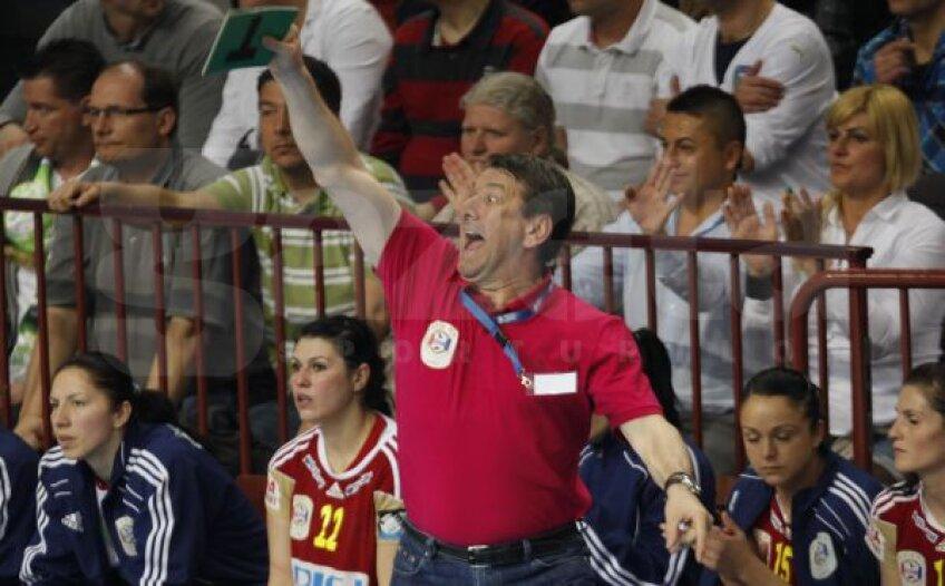 Radu Voina a trăit la intensitate maximă meciul cu Gyor