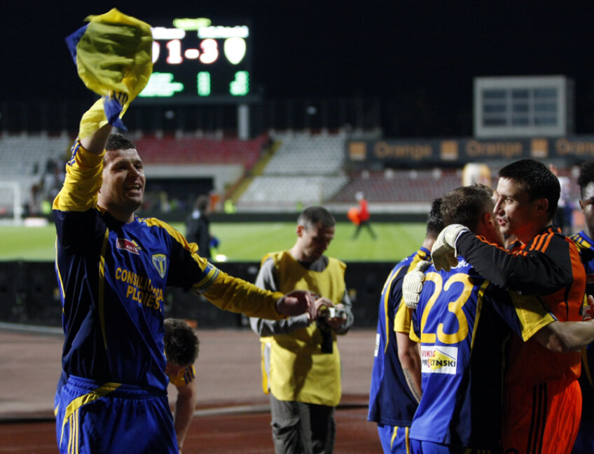 Opriţa a marcat un gol în înfrîngerea suferită de Dinamo, scor 3-1.