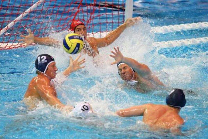 România joacă cu Grecia în finala mică a turneului preolimpic de polo