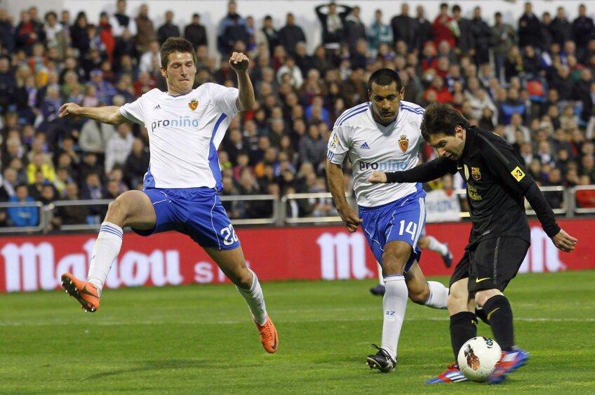 """Cu """"dubla"""" de la Zaragoza, Messi a ajuns la 23 de goluri în ultimele 12 partide disputate (foto: Reuters)"""