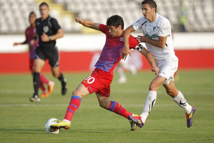 În tur, Steaua a remizat, 0-0, în Regie, cu Sportul Studenţesc